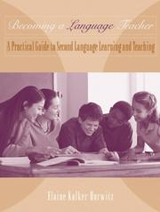 Cover of: Becoming A Language Teacher