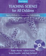 Cover of: Teaching science for all children |