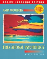 Cover of: Educational Psychology, 9/e, Active Learning Edition