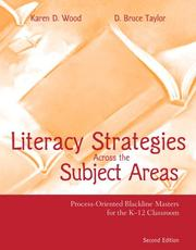 Cover of: Literacy Strategies Across the Subject Areas (2nd Edition) | Karen D. Wood