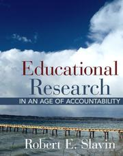 Cover of: Educational Research in an Age of Accountability