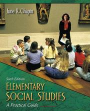 Cover of: Elementary social studies | June R. Chapin