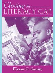 Cover of: Closing the literacy gap