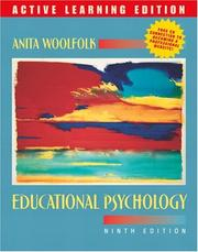 Cover of: Educational Psychology, 9/e, Active Learning Edition, MyLabSchool Edition