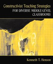 Cover of: Constructivist Teaching Strategies for Diverse Middle-Level Classrooms, MyLabSchool Edition