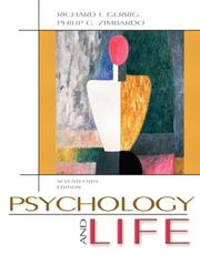 Cover of: Psychology and Life