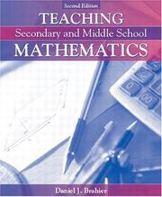 Cover of: Teaching Secondary and Middle School Mathematics, MyLabSchool Edition