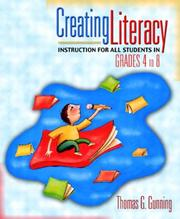 Cover of: Creating Literacy Instruction for All Students in Grades 4 to 8, MyLabSchool Edition