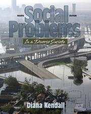 Cover of: Social Problems in a Diverse Society (4th Edition) (MySocKit Series)