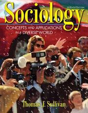 Cover of: Sociology | Thomas J. Sullivan
