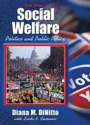 Cover of: Social Welfare | Diana M. DiNitto