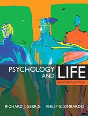 Cover of:  Psychology and Life (18th Edition)