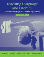 Cover of: Teaching Language and Literacy | James F. Christie