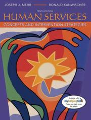 Cover of: Human Services | Joseph J. Mehr