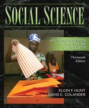 Social Science: An Introduction to the Study of Society