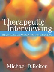 Cover of: Therapeutic interviewing