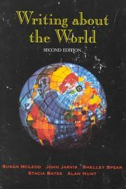 Writing about the world by Susan McLeod