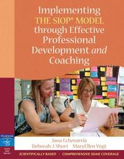 Cover of: Implementing the SIOP Model Through Effective Professional Development and Coaching