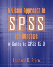 Cover of: A Visual Approach to SPSS for Windows