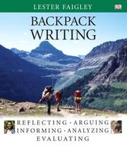 Cover of: Backpack writing
