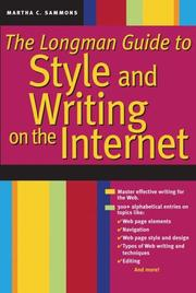 Cover of: The Longman Guide to Style and Writing on the Internet
