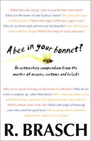 Cover of: A Bee in Your Bonnet