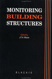 Cover of: Monitoring Building Structures