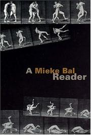 Cover of: A Mieke Bal reader