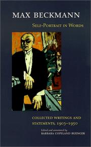 Cover of: Self-Portrait in Words