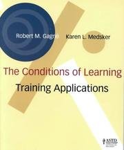 The conditions of learning by Robert Mills Gagné