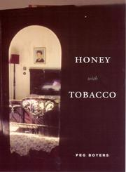 Cover of: Honey with Tobacco