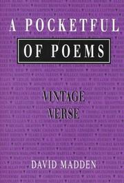 Cover of: A pocketful of poems | David Madden
