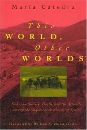 Cover of: This World, Other Worlds | Maria Catedra