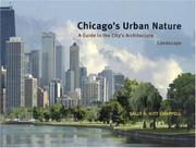 Cover of: Chicago's Urban Nature