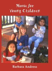 Cover of: Music for young children