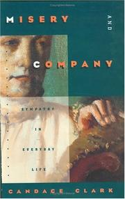 Cover of: Misery and company | Candace Clark