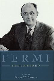 Cover of: Fermi Remembered