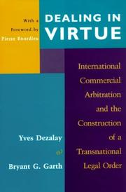 Cover of: Dealing in virtue