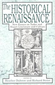 Cover of: The Historical renaissance