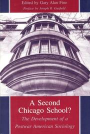 Cover of: A Second Chicago School?