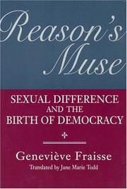 Cover of: Reason's muse: sexual difference and the birth of democracy