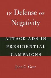 In defense of negativity by John Gray Geer