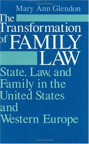 Cover of: The transformation of family law