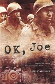 Cover of: OK, Joe