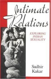Cover of: Intimate relations: exploring Indian sexuality
