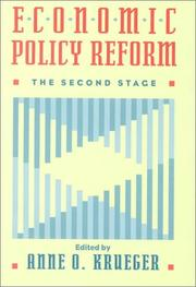 Cover of: Economic Policy Reform | Anne O. Krueger