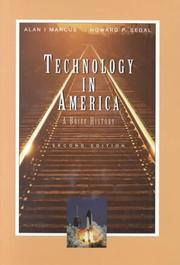 Cover of: Technology in America | Alan I. Marcus