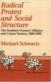 Cover of: Radical protest and social structure | Schwartz, Michael