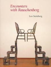 Encounters with Rauschenberg