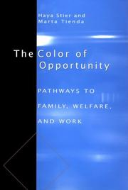 Cover of: The Color of Opportunity | Haya Stier